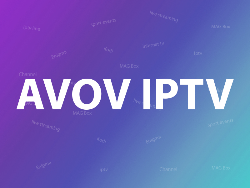 How to setup IPTV on AVOV?